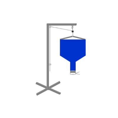 Distributeur de particule de calage