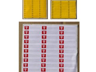 Étiquette adhésive en planche jpg