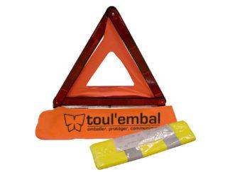 KIT de sécurité gilet et triangle