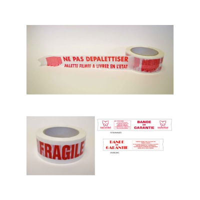 Banderole de signalisation imprimée