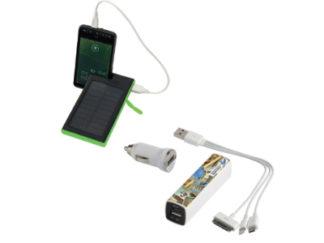 Powerbank/batteries de secours personnalisables
