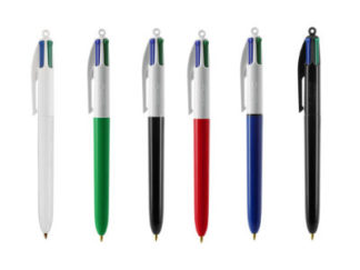 Stylo bille BIC® 4 couleurs Classic