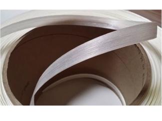Feuillard polyester fil à fil