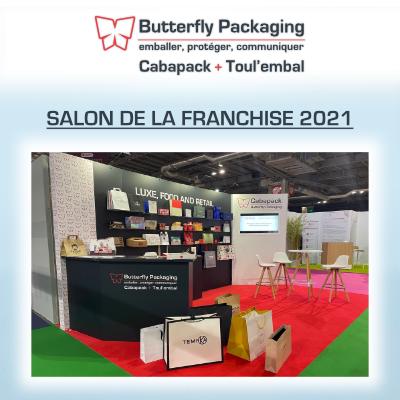 Butterfly Packaging au Salon de la franchise 2021 à Paris